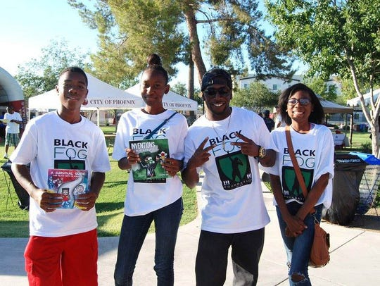 During the Valley of the Sun Juneteenth event, people