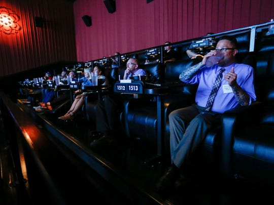 Members of the media got a first look inside of Alamo Drafthouse Cinema on Monday, June 19, 2017.