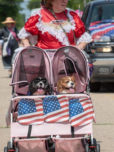Ocean Grove Independence Day Parade.