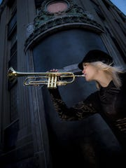 Trumpeter and singer Bria Skonberg will perform Friday night at the Corning Museum of Glass.