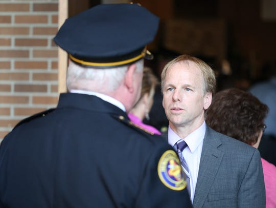 Public safety is among Mayor Jamie Clary's top priorities for the city in 2019.