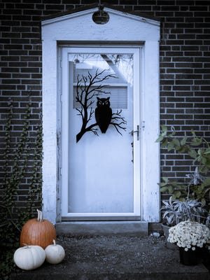 Offenders are barred from putting up Halloween decorations that might attract children to knock on their doors.
