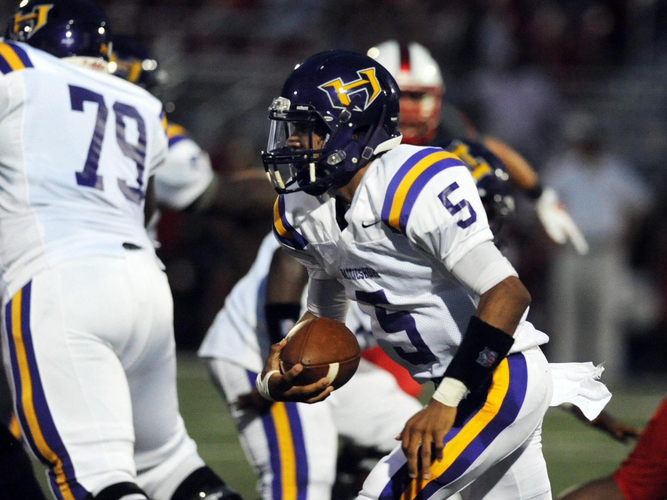 Julian Conner's stock is on the rise after rallying Hattiesburg past Laurel 34-32 last week.