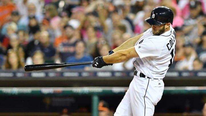 Tigers minor-league report: Tyler Collins swinging hot stick