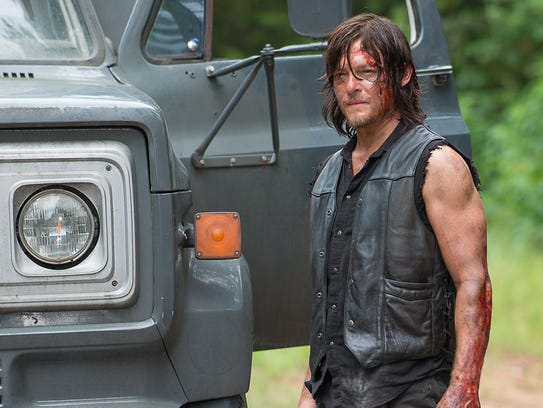 "Norman Reedus plays Daryl Dixon on ""The Walking Dead."""