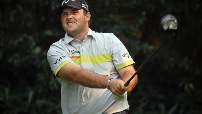 Patrick Reed during the first round of the WGC - HSBC Champions at the Sheshan International Golf Club.