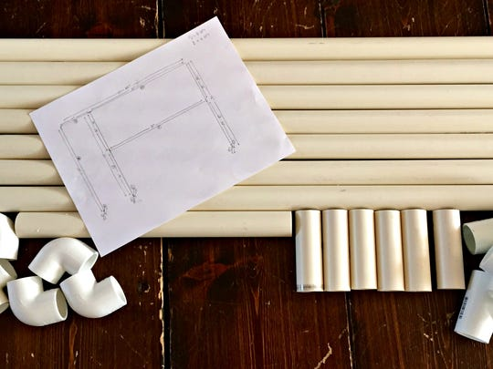 A good design plan and PVC pipe keep this project low on cost and fast on time.