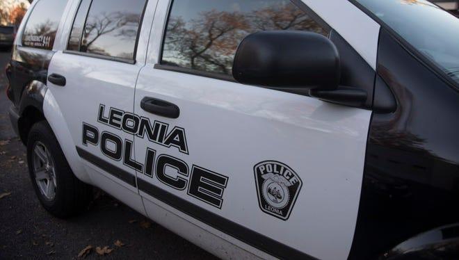 A Leonia police car.