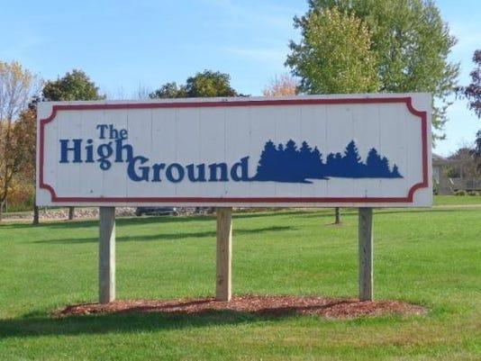 Highground sign