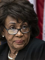 House Financial Services Committee Chair Maxine Waters, D-Calif., leads a hearing to review the Consumer Financial Protection Bureau's mission to focus priority on consumers on Capitol Hill in Washington, Thursday, March 7, 2019.