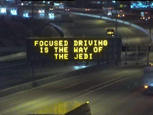 ADOT Star Wars sign
