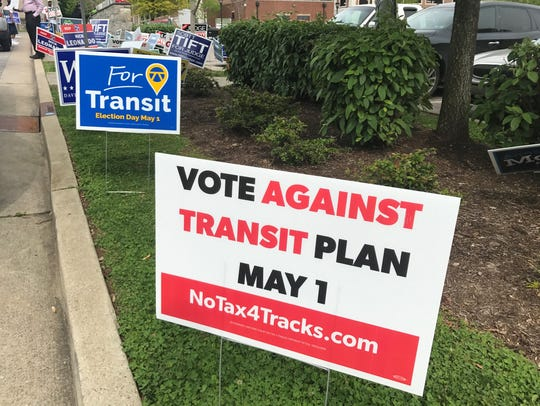 Nashville residents overwhelmingly rejected a transit plan May 1.