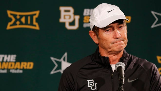 Baylor football coach Art Briles, left dissatisfied by the College Football Playoff selection process last December, is open to the idea of a Big 12 football championship game.