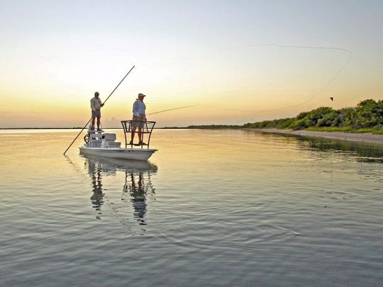 Capt. Chuck Naiser, a longtime South Texas fly guide, is part of the Texas Parks & Wildlife Foundation's Untamed Ambassadors in a statewide conservation campaign called We Will  Not Be Tamed.