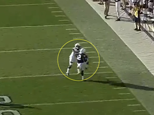 Chris Godwin can't reel in one of three deep incompletions against Kent State.
