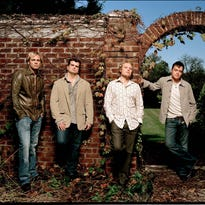 The original band members of 3 Doors Down were Todd Harrell, Chris Henderson, Matt Roberts and Brad Arnold.