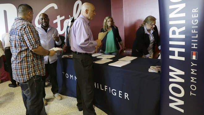 Hiring surged recently after slumping in April and May.