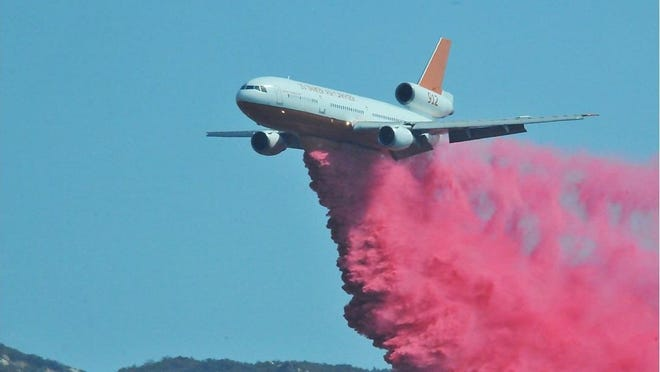 Air support was requested to control the Tule Fire, reported Monday morning.