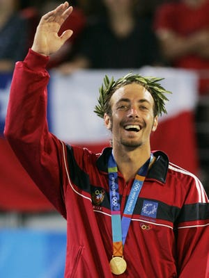 Nicolas Massu of Chile, who announced his retirement Tuesday, won the Olympic gold medal in 2004.