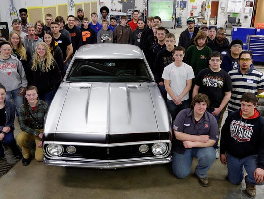 Lakeshore Technical College students and instructors