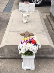 Residents have cared for the grave of Jane Doe.