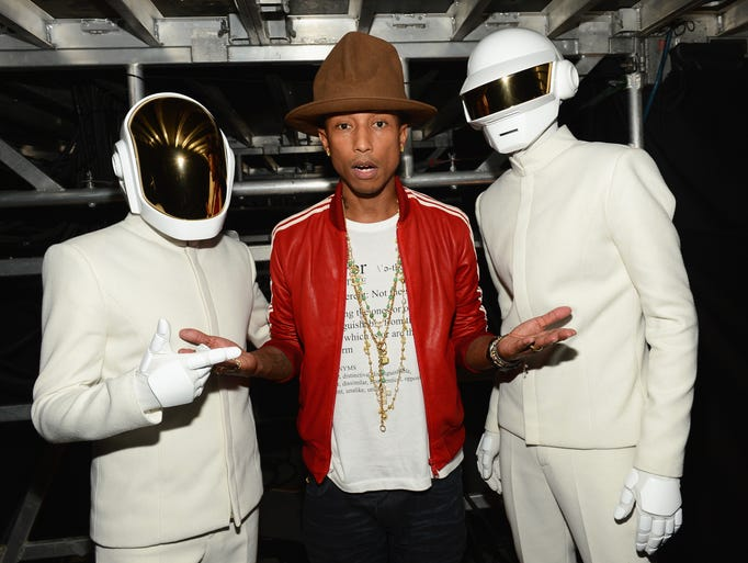 Pharrell Williams' big year kicked off at the Grammys