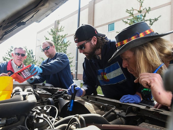 Project homeless connect event for Dellenbach motors fort collins co