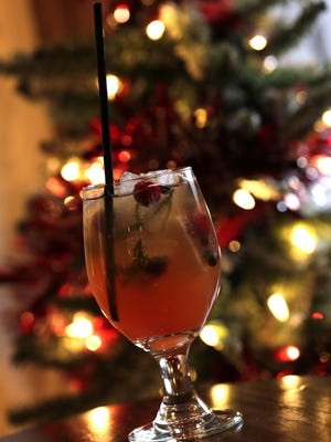 New Year's Eve Sangria includes sparkling wine to toast 2017.