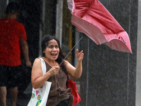 AP Taiwan Typhoon