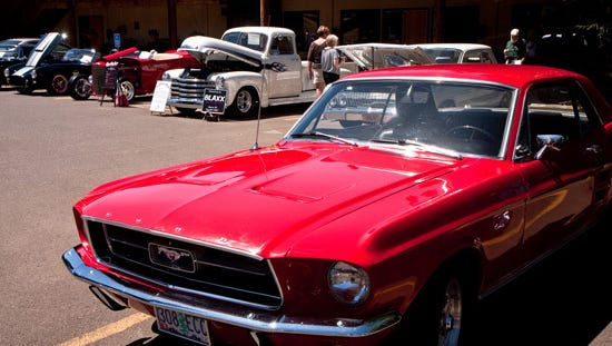 The Wine Country Cruise-In & Father's Day Celebration, with classic cars, live music and wine tasting, takes place noon to 6 p.m. June 18 at Willamette Valley Vineyards.