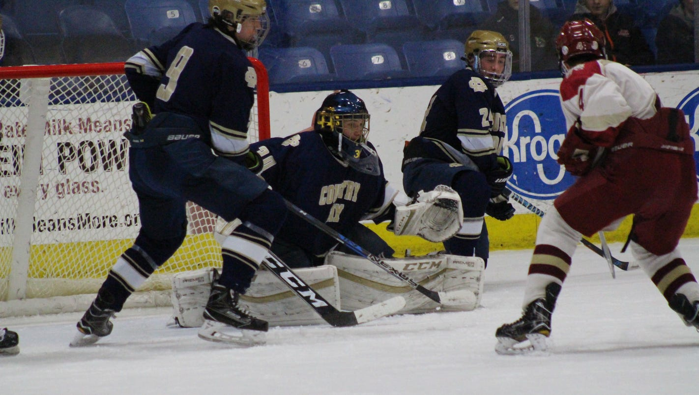 Division 3 hockey: G Evola sharp as Detroit Country Day makes final