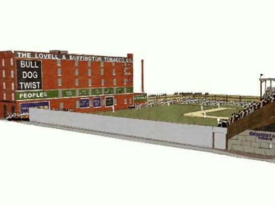 A 3D rendering of Federal Park.