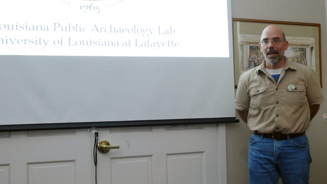 Mark Rees, associate professor of anthropology at the University of Louisiana at Lafayette, is the lead man with the NAP.