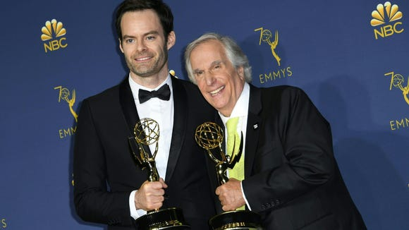 That time Stefon and the Fonz won Emmys.