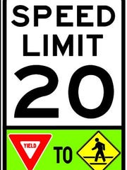 Some new Asheville speed limit signs will include additional
