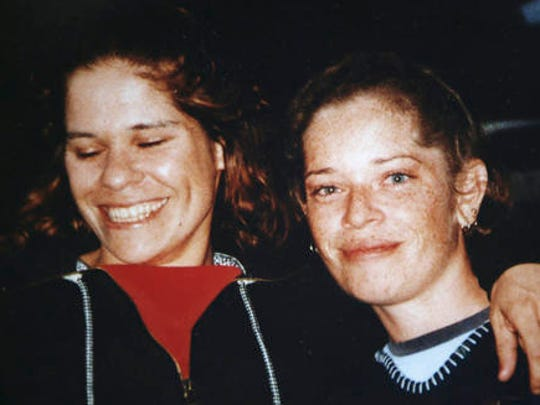 This undated photo released by the Daley family, shows Lynette Daley, left, with an unidentified friend in Australia. The brutal death of Daley, an Aboriginal woman, and the reluctance of officials to prosecute the white suspects, has highlighted a deadly racial divide in Australia, where Indigenous people remain the most disadvantaged segment of society.