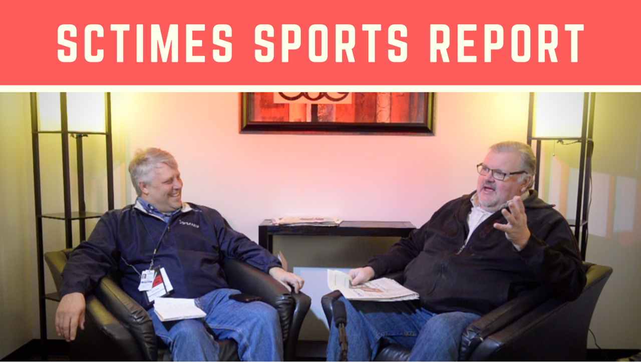 Mick Hatten and Tom Elliott discuss local sports news on SCTimes Sports Report.