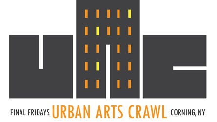 The second monthly Urban Arts Crawl will take place Friday in Corning.