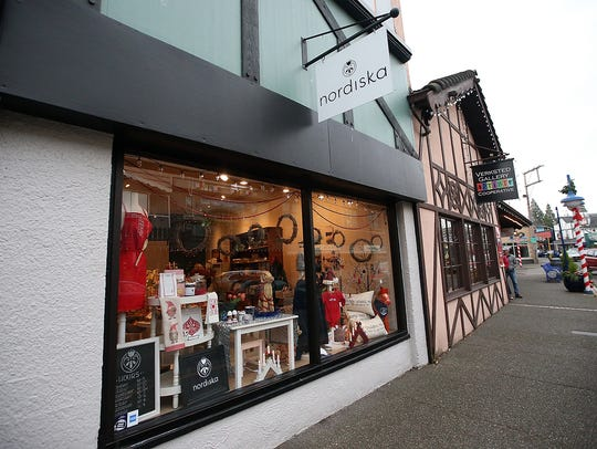 Kristin Klassert's shop Nordiska in Poulsbo on Friday,