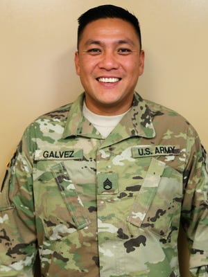 Staff Sgt. Richard Galvez, from the Guam Army National Guard's 1224th Engineer Support Company, recently returned from a deployment to the Republic of the Philippines in support of Operation Enduring Freedom- Philippines.