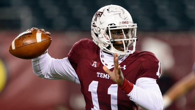 Temple has questions at a few positions, but not at quarterback, where dual-threat P.J. Walker is inspiring hope for 2014.