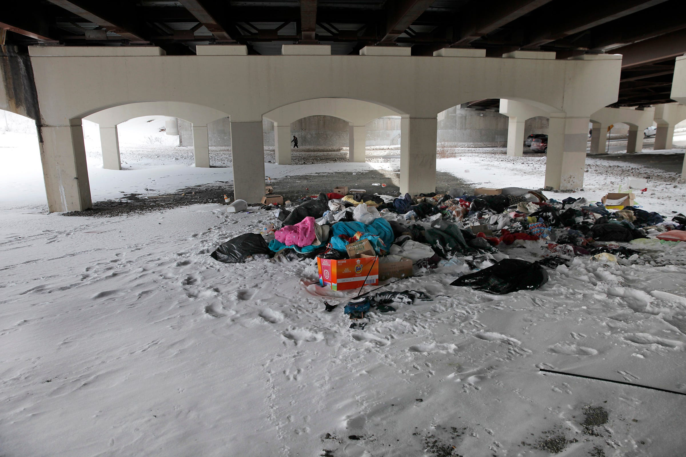 AL 022415 sanctuary garbage A.jpg & Andreatta: Tent city trash tries patience for homeless