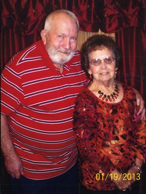 Billy and Sybil (Beck) Barron of Pineville