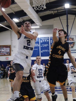 Simon Kenton's Jaeger Pracht scored 14 points in an 81-65 win over No. 9 Conner Tuesday.