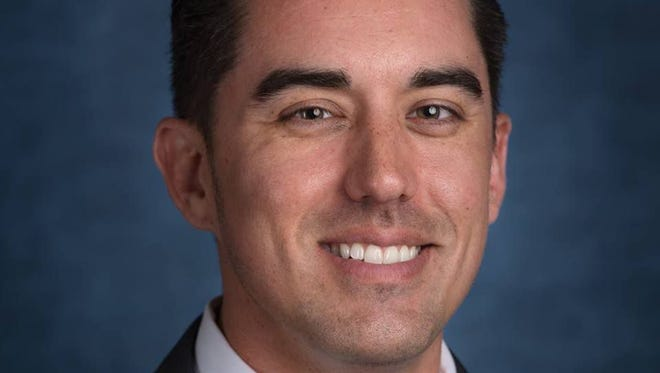 Mesa Councilman Ryan Winkle, 38, was arrested in Tempe May 7, 2017, on suspicion of DUI. He and his wife were driving back to their west Mesa home after an event hosted by the Arizona Hispanic Chamber of Commerce at the Arizona Grand Hotel when an officer pulled them over.