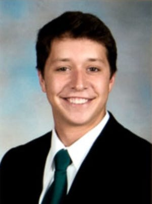 A composite photo from the Evans Scholar website at Ohio State University of Anthony Wunder.