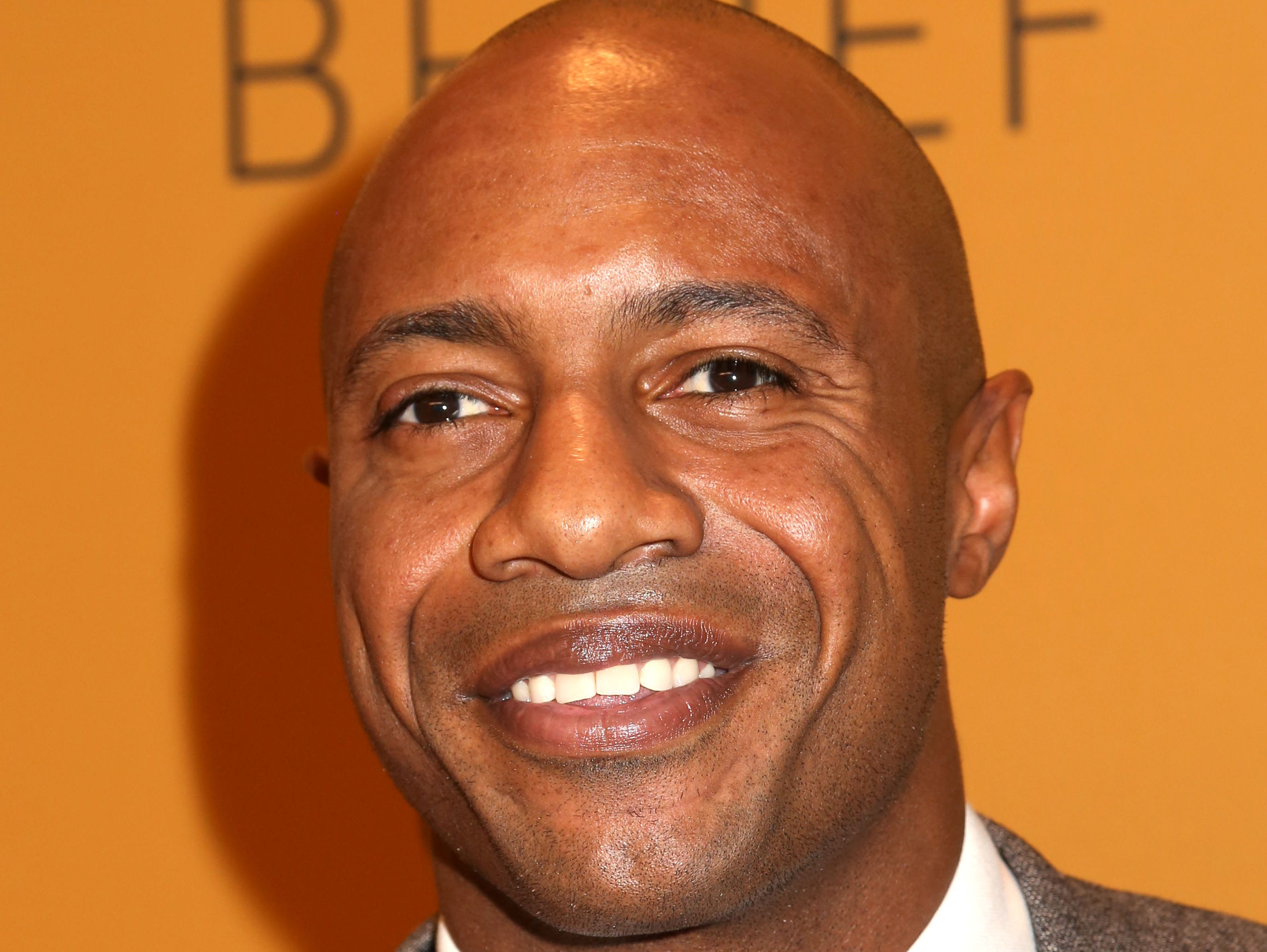 """Jay Williams attends the premiere of the Oprah Winfrey Network's (OWN) documentary series """"Belief"""", at The TimesCenter on Wednesday, Oct. 14, 2015, in New York. (Photo by Greg Allen/Invision/AP)"""