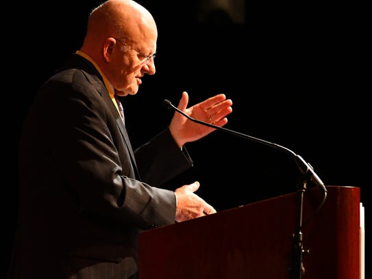 James Clapper, retired lieutenant general in the United