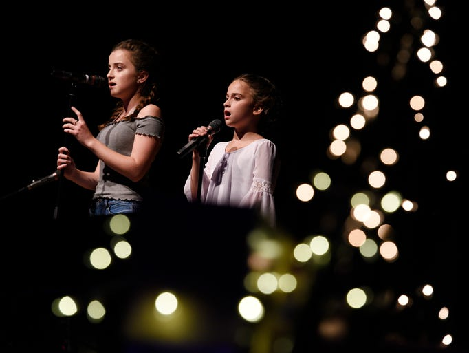 Cedar Grove High School held its Talent Under the Stars