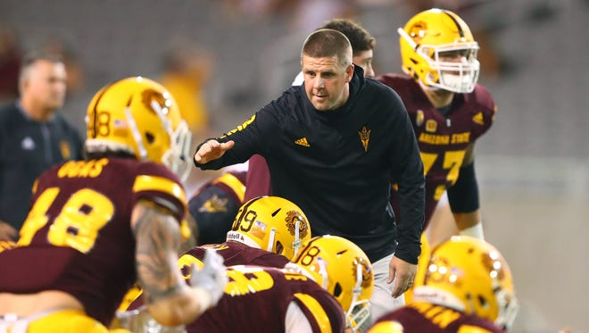 Billy Napier was offensive coordinator at Arizona State for one season.